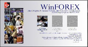 WinFOREX software title screen