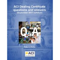 ACI Dealing Certificate questions and answers book