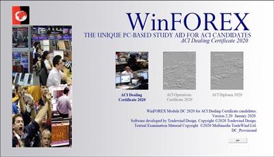 WinFOREX title screen shot