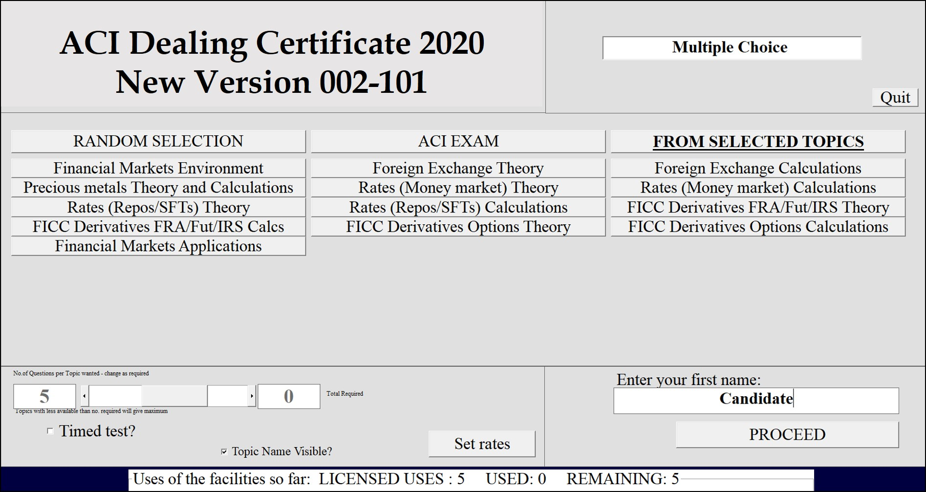 ACI Diploma - Education - forex